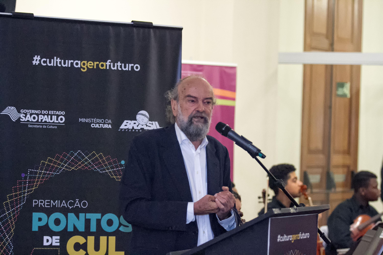 Premiação dos Pontos de Cultura - Foto: Secretaria da Cultura do Estado de São Paulo