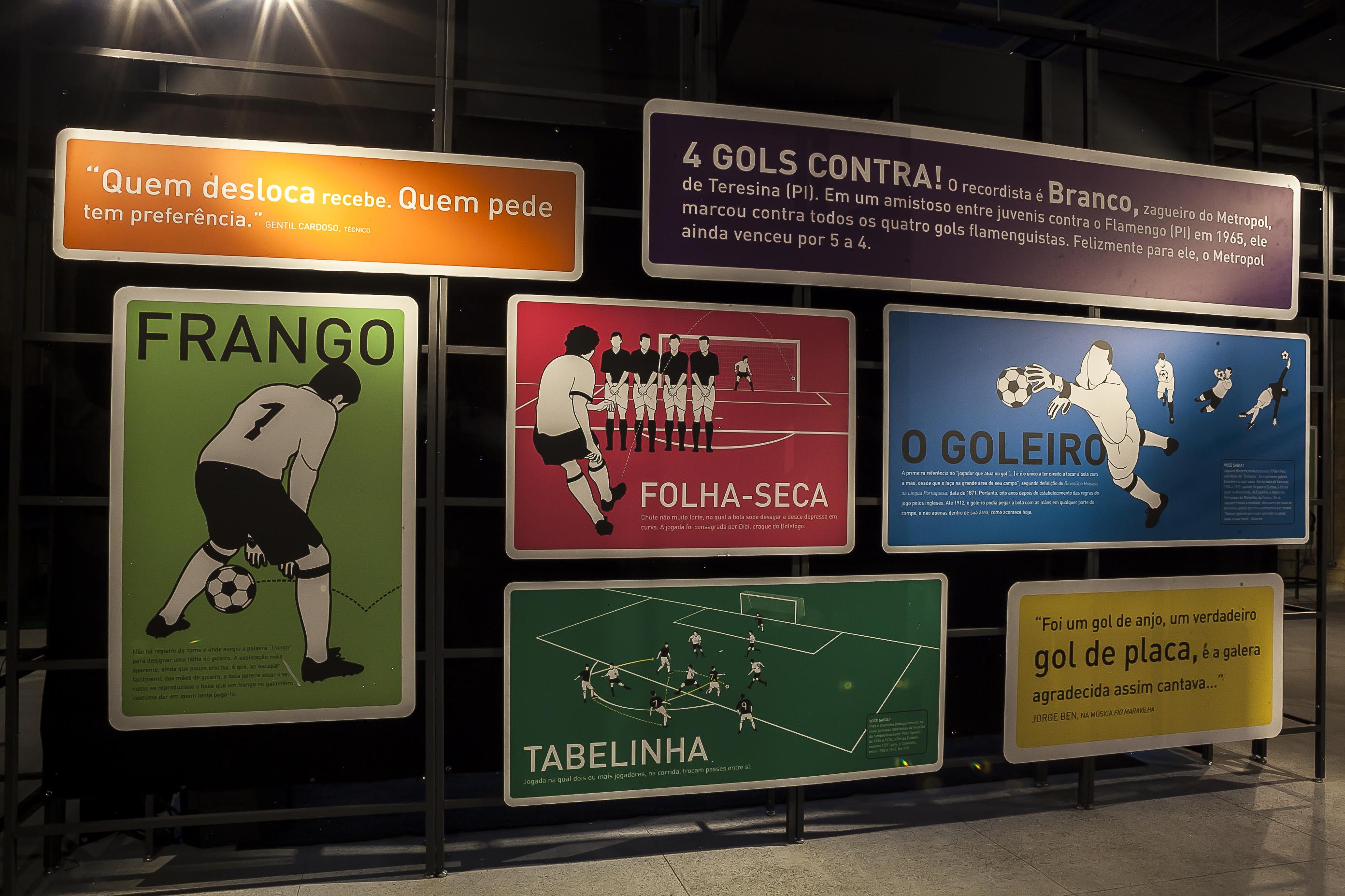 Museu do Futebol na Área em Recife - Foto: Tom Cabral / Secretaria da Cultura do Estado de São Paulo