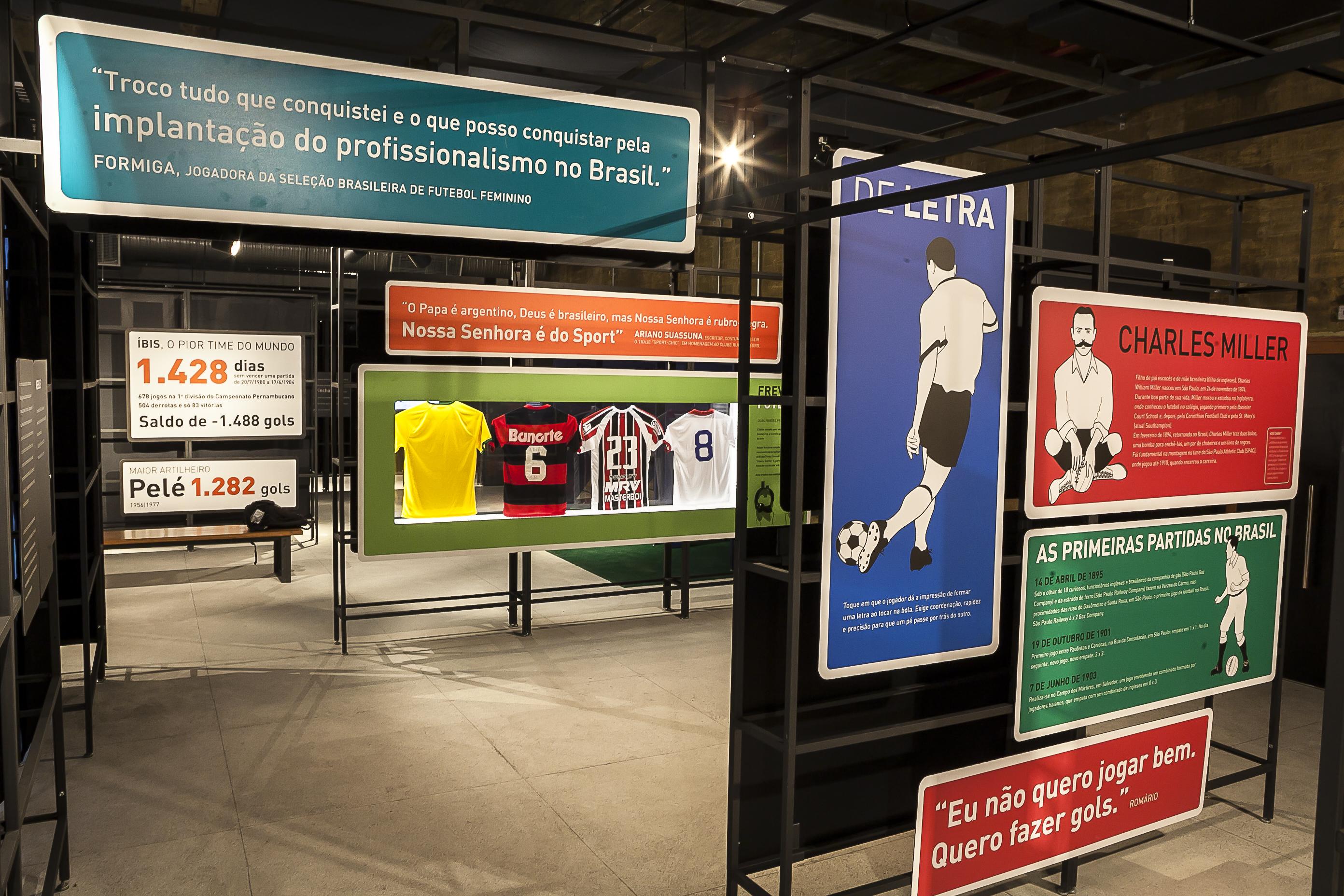 e06cc208c3 Museu do Futebol na Área em Recife - Foto  Tom Cabral   Secretaria da  Cultura