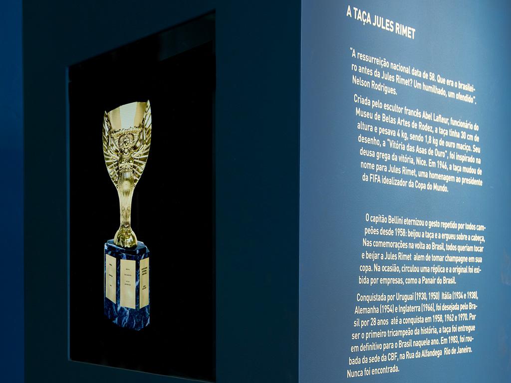"""""""A Primeira Estrela"""" - Museu do Futebol - Foto: Rogerio Alonso"""