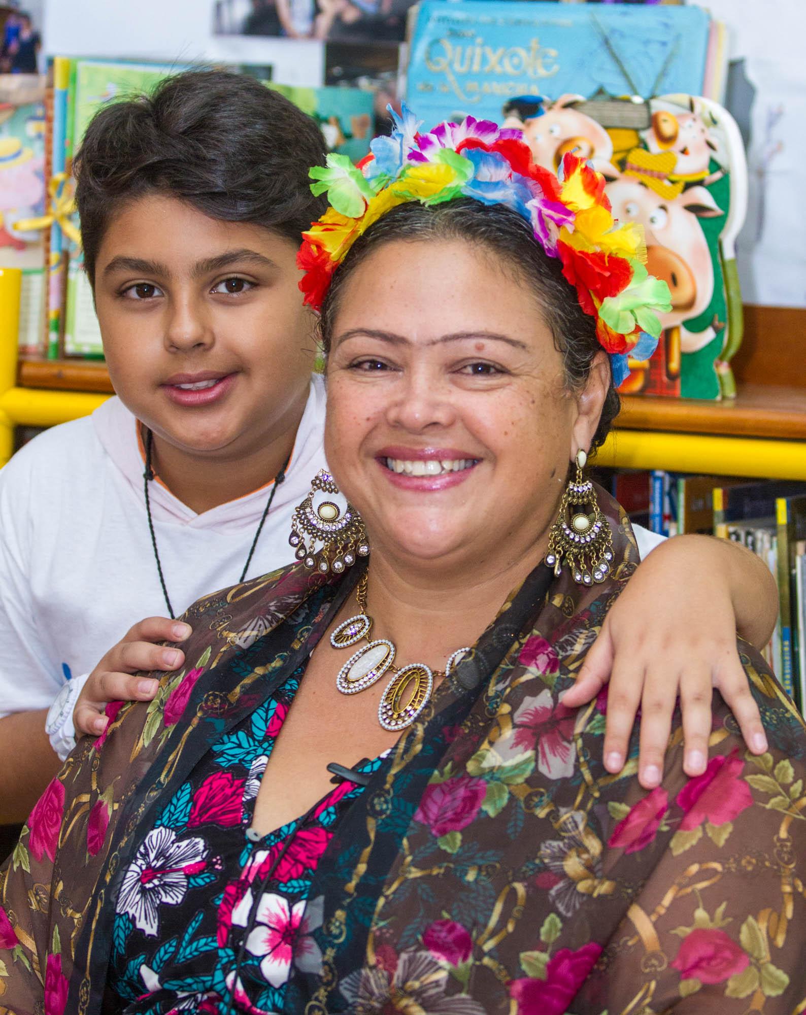 Márcia, uma das alunas da Escola - Foto: Joca Duarte