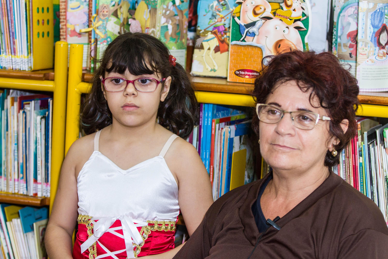 Marisa, uma das alunas da Escola - Foto: Joca Duarte