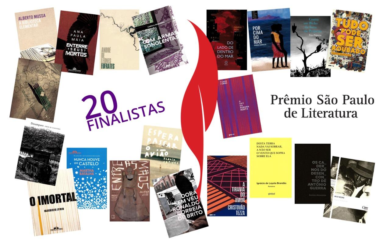 Prêmio São Paulo de Literatura 2019 anuncia finalistas