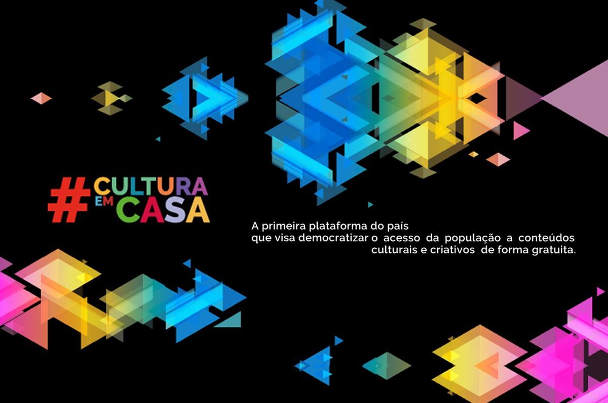 Plataforma de streaming e vídeo por demanda #CulturaEmCasa disponibiliza conteúdo cultural online