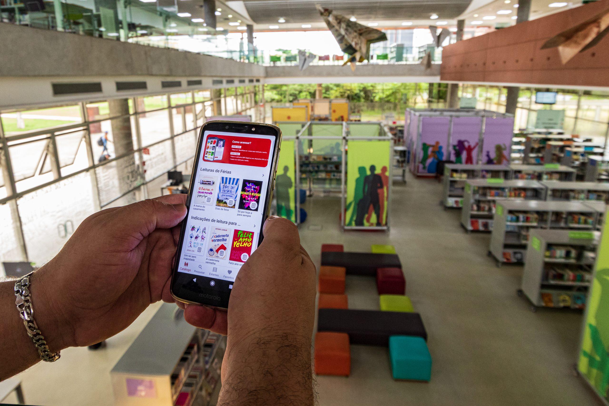 Dia Nacional da Biblioteca: plataforma de empréstimo de livros tem mais de 32 mil acessos