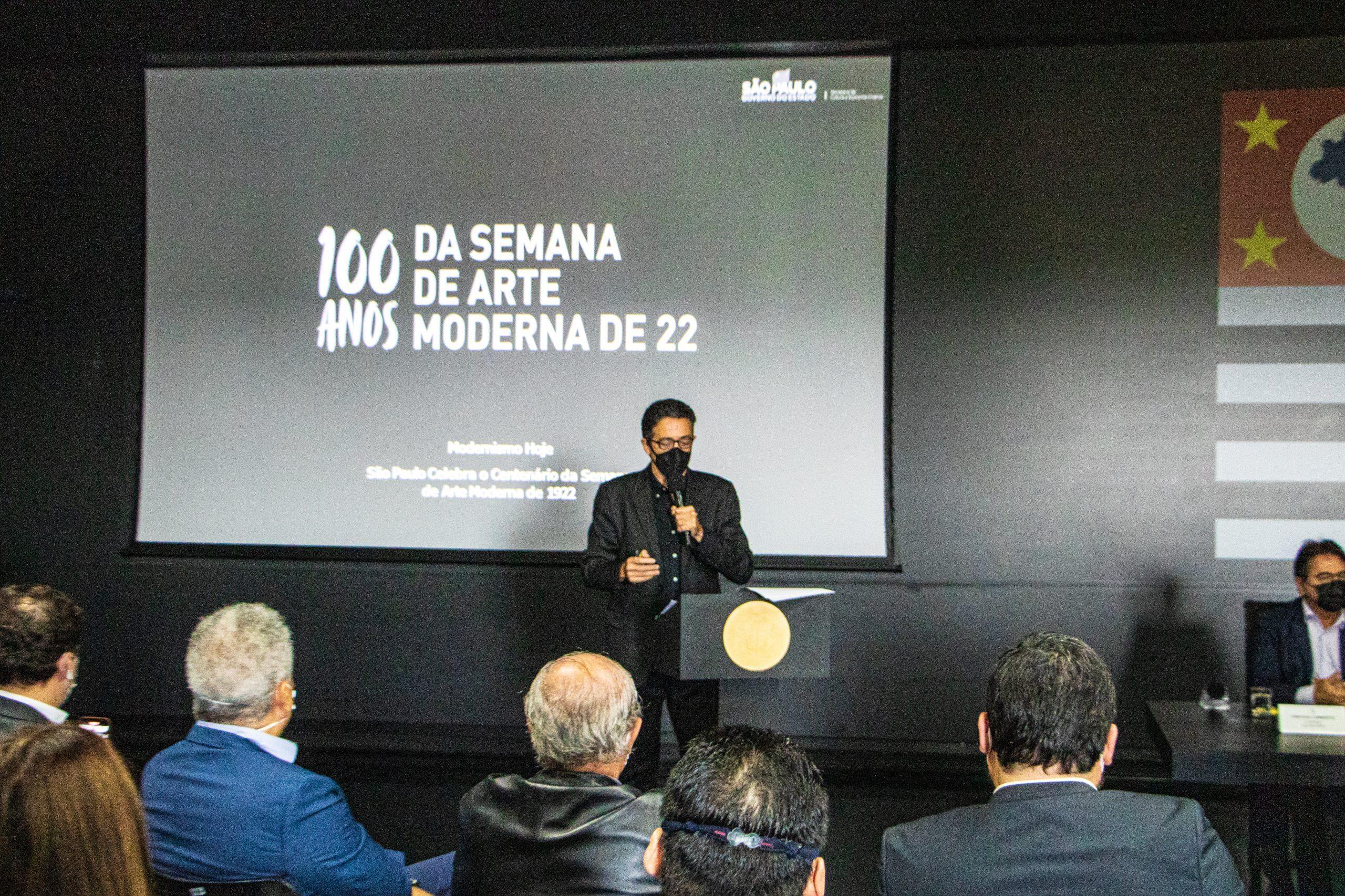 Governo de São Paulo dá a largada para as comemorações do centenário da Semana de Arte Moderna com a apresentação de um grande projeto