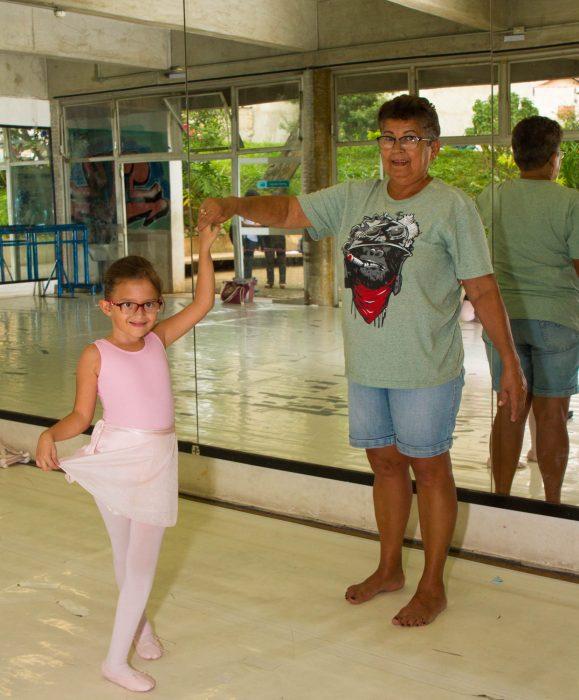 Mariana, uma das alunas da Escola - Foto: Joca Duarte